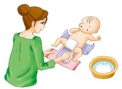 怎样给宝宝换尿布?换尿布的注意事项