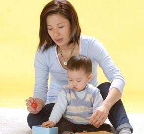 宝宝12个月亲子游戏