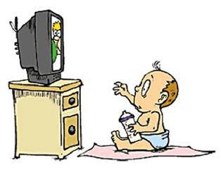 宝宝为什么非常喜欢看动画片?