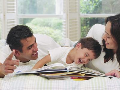 如何愉快的进行亲子阅读?