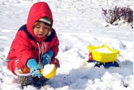 下雪天孩子玩雪应注意什么?