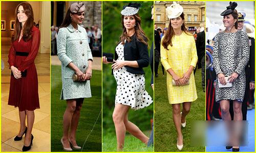凯特王妃最美孕妇装-3