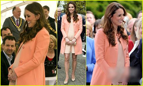 凯特王妃最美孕妇装-5