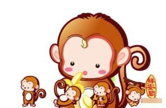 """1,猴宝宝起名宜用带有大""""口""""与宝盖头的字图片"""