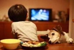 孩子喜欢边看电视边吃饭?这个习惯对孩子的成长好吗