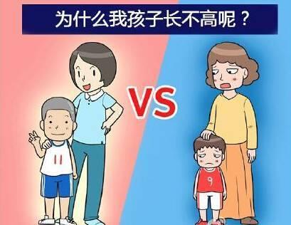孩子发育偏慢个子比同龄人矮!吃什么才能让孩子长高